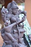 Hindu goddess-saraswati Stock Image