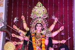 Hindu Godess in Navratri Stock Image