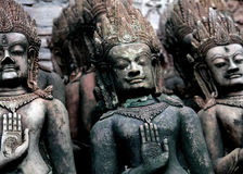 Hindu gods hands. Close up royalty free stock photo