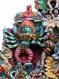 Hindu Gods statues in India Royalty Free Stock Photos