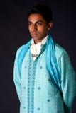 Hindu groom wearing a Dhoti Stock Photography