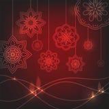 Hindu holiday. Culture. Festival of Lights. Flower circular background. Mandala. Vector illustration. Hindu holiday. Culture. Festival of Lights. Flower Stock Images