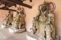 Hindu Idols in Thiên Mụ Pagoda. Hindu idols in the Thiên Mụ Pagoda (Vietnamese: Chùa Thiên Mụ; also called Linh Mụ Pagoda) is a historic temple in Royalty Free Stock Photo