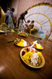 Hindu Indian wedding ceremony Stock Images