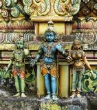 Hindu kovil statues Stock Photos