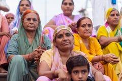 Hindu Ladies Stock Image