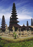 Hindu Lake Temple - Bali - Indonesia. Hindu temple complex on the tropical island of Bali in Indonesia royalty free stock photography