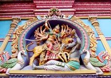Hindu legendary gods beautiful statues Royalty Free Stock Photography