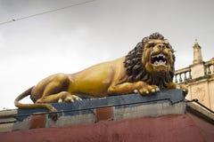 Hindu lion Stock Photography