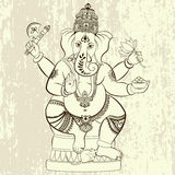 Hindu Lord Ganesha Fotos de Stock Royalty Free