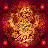 Hindu Lord Ganesha Royalty Free Stock Photo