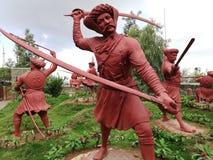 Hindu Maratha warrior royalty free stock image