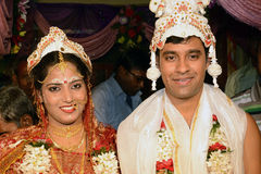 Hindu Marriage Stock Photo