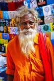 Hindu monk Stock Image