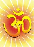 Hindu ohm Stock Image
