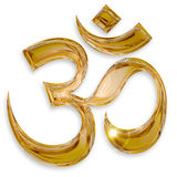 Hindu om icon Royalty Free Stock Photos