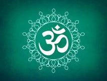 Hindu Om Icon Royalty Free Stock Photography