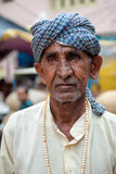 A Hindu Pilgrim in Haridwar, India. Stock Photos
