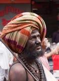 Hindu Pilgrim Royalty Free Stock Photos