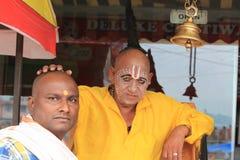 Hindu Pilgrim Royalty Free Stock Photo