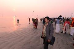 Hindu Pilgrims Royalty Free Stock Image