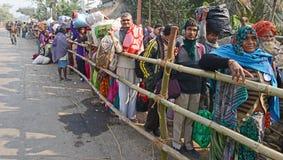 Hindu Pilgrims Royalty Free Stock Images