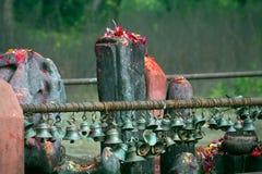 Hindu place of worship, hindu temple in Thakurdwara, Bardia, Nepal Stock Photos