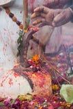 Hindu place of worship, hindu temple in Thakurdwara, Bardia, Nepal Stock Photography