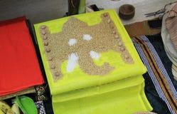 Hindu Pooja setup Royalty Free Stock Photo
