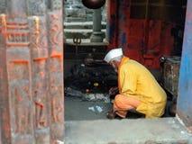Hindu. Praise the Lord.6th century.Lord Shiva temple .india . Maharashtra. harishchandragad Royalty Free Stock Photos