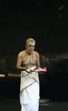 Hindu prayer stock photography