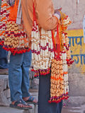 Hindu Prayer Beads on sale Royalty Free Stock Photo