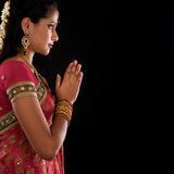 Hindu prayer Stock Image
