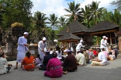Hindu prayers Stock Image