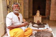 Hindu priest Royalty Free Stock Photography