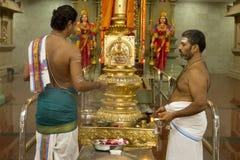 Hindu Priest Stock Images