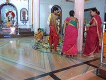 Hindu priests. Stock Images