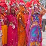 Hindu Procession Royalty Free Stock Photography