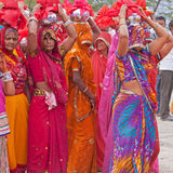Hindu Procession Royalty Free Stock Photography