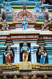 Hindu religious art. Ancient statue of Gods Royalty Free Stock Image