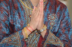 Hindu religious ceremony Stock Images