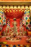 Hindu ritual of Durga Puja Stock Photography