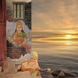 Hindu ritual. Stock Photo