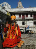 Hindu Sadhu Royalty Free Stock Photos