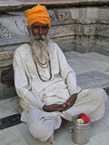 Hindu Sadhu Royalty Free Stock Images