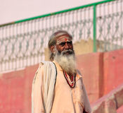 Hindu Sadhu Stock Photo