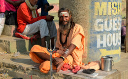 Hindu Sadhu Stock Photos