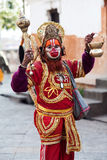 Hindu sadhu Hanuman Baba (Holy Man) Stock Photos