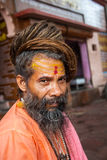 A Hindu Sadhu in Haridwar, India Stock Photos