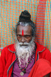 Hindu Sadhu in India Royalty Free Stock Photo